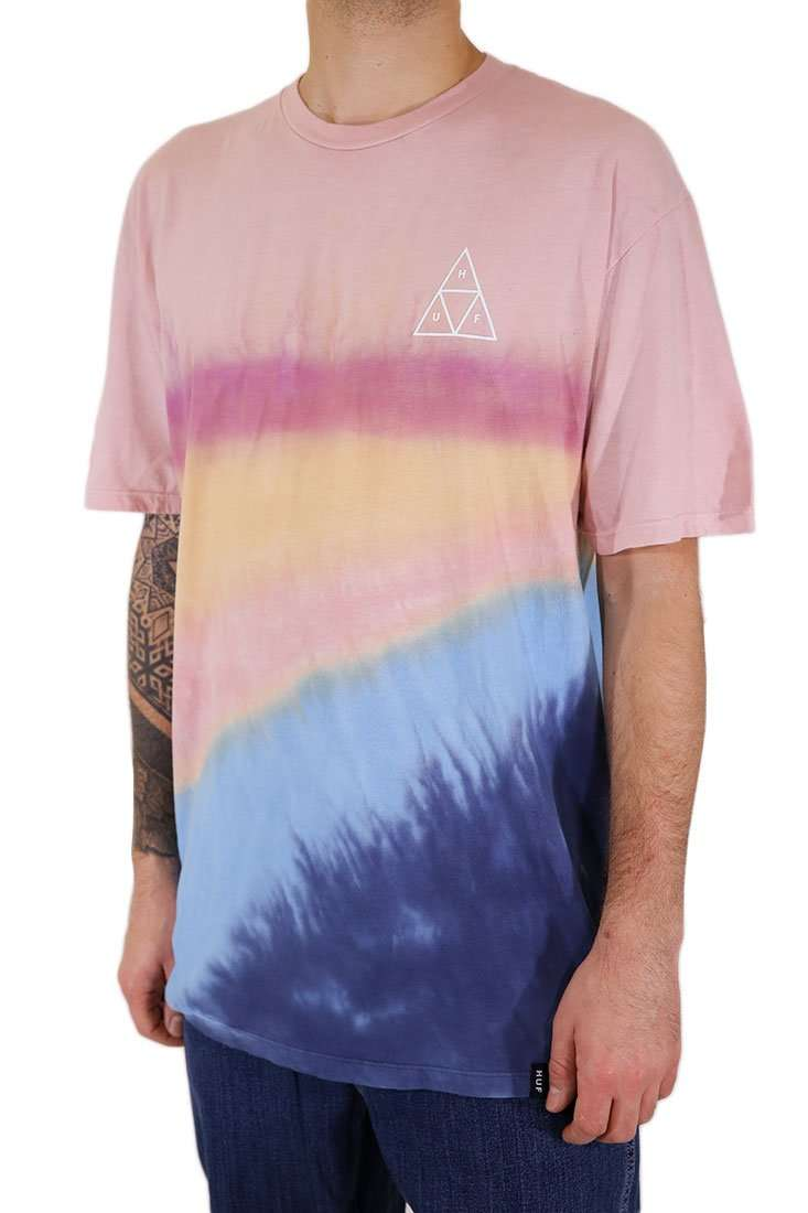 Huf T Shirt Sky Wash
