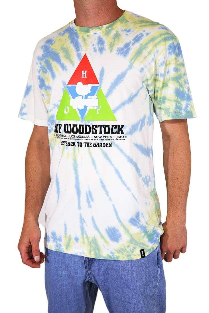 Huf T Shirt Woodstock Peaking