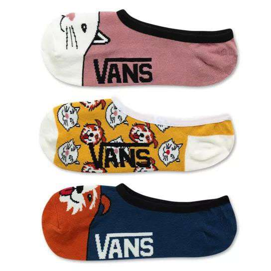 Vans Damen Socken Best Bud Canoodles 3er Pack