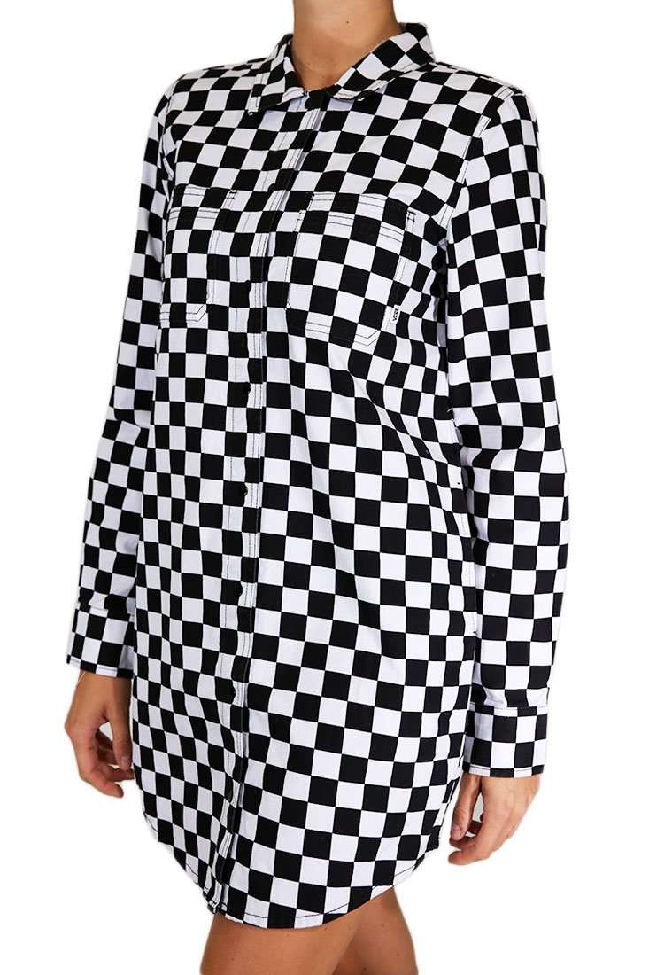 Vans Kleid Broadway II Checkerboard Shirt