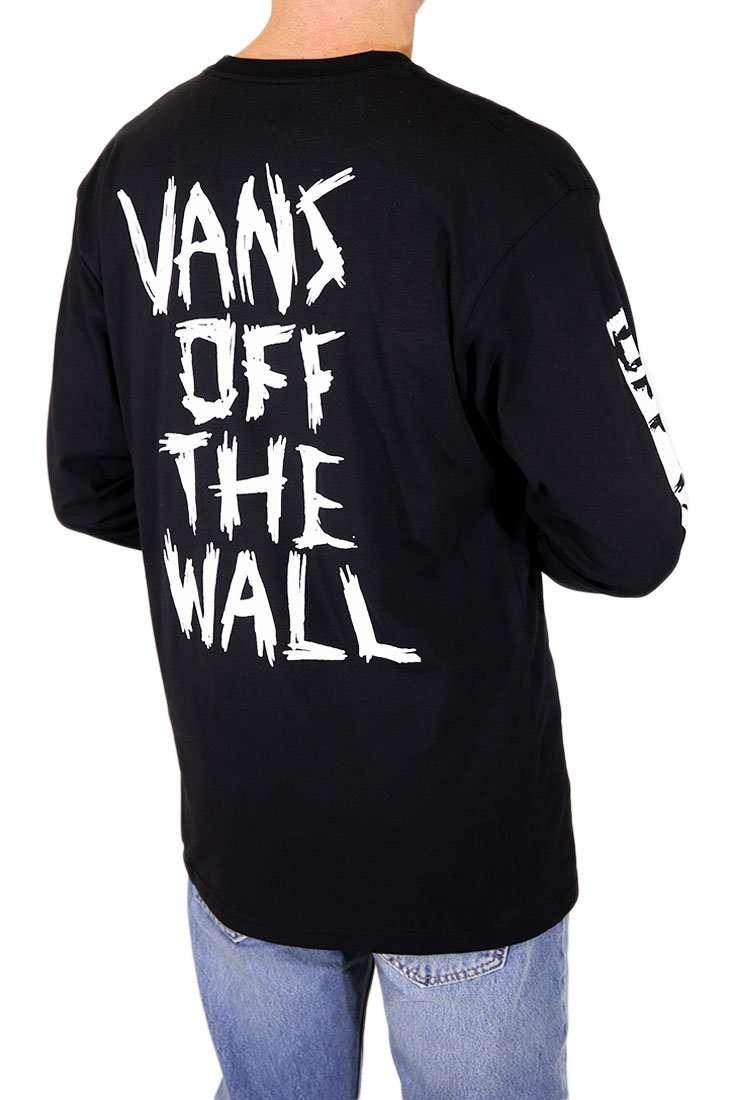 Vans Langarm T Shirt Scratched LS