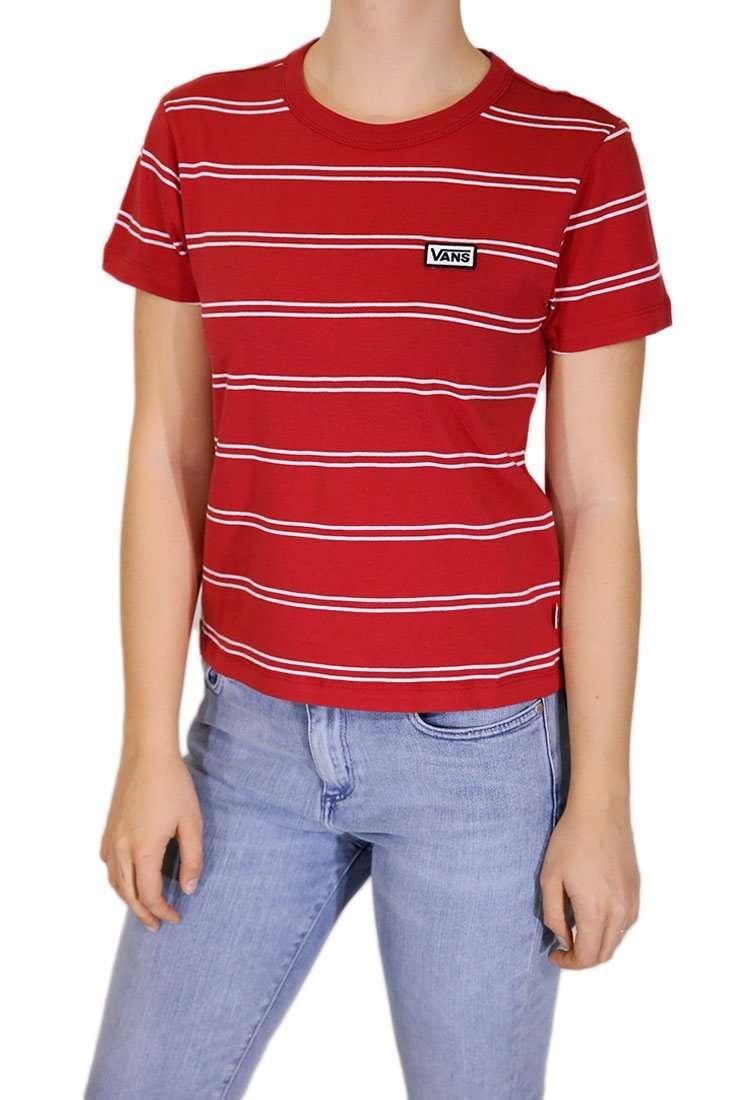 Vans Damen T Shirt Spacey Stripe