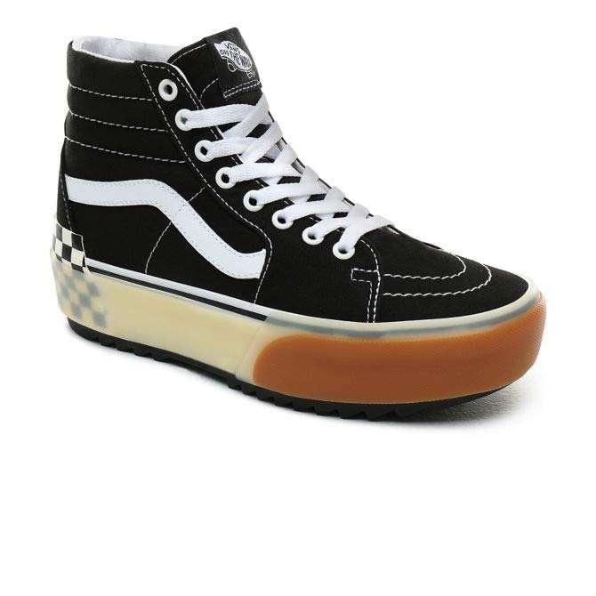 Vans Damen Street Schuhe Sk8-Hi Stacked