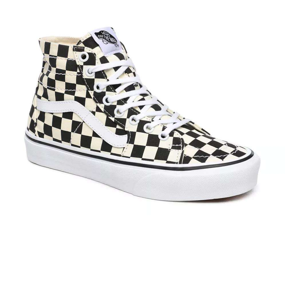 Vans Damen Classic Sneaker Sk8-Hi Tapered Checkerboard