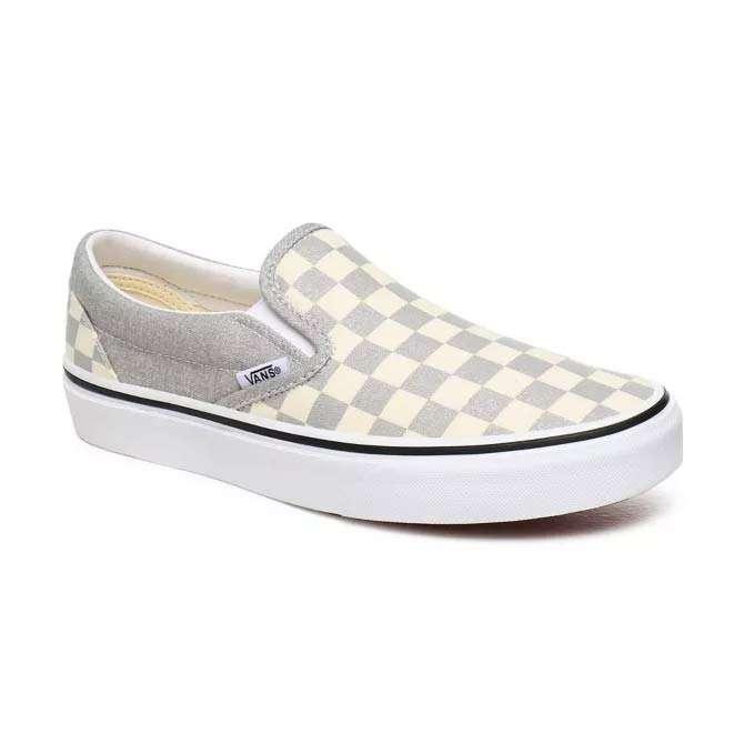 Vans Damen Classic Sneaker Classic Slip-On Silver